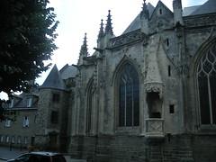 Détails de la cathédrales, face nord