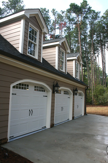 3 car garage addition w bonus room above a set on flickr for How much to add a garage with bonus room