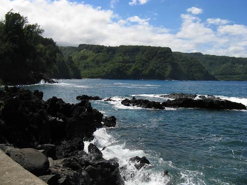 travel tourism island hawaii coast paradise sightseeing shoreline 360 maui hanahighway shore tropical coastline hi windward roadtohana eastmaui hawaiianislands