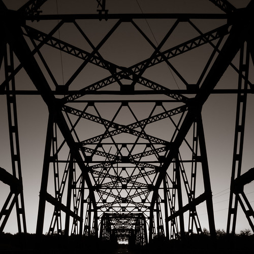 road travel bridge sunset sky west art history oklahoma sepia america river drive route66 midwest warm iron pattern cross pentax path steel perspective bethany symmetry 66 route nostalgia western americana tone lightroom preset k20d