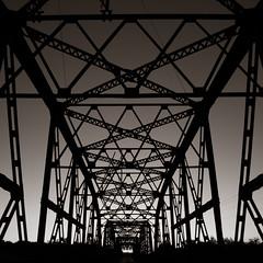 Steel Bridge, Route 66, Bethany, Oklahoma