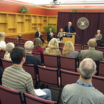 Herring Presents His Collection to MSU Libraries