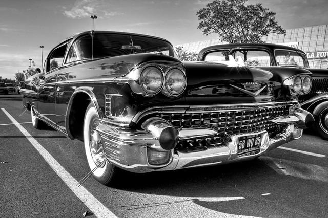 hdr noir et blanc voiture americaine flickr photo sharing. Black Bedroom Furniture Sets. Home Design Ideas