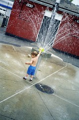 2001 Summer NYC - 24 sycamores playground by CaptainKidder, on Flickr