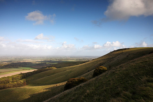The South Downs, East Sussex, England