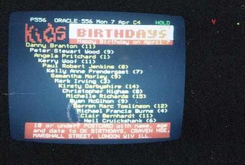 Kirsty's Birthday