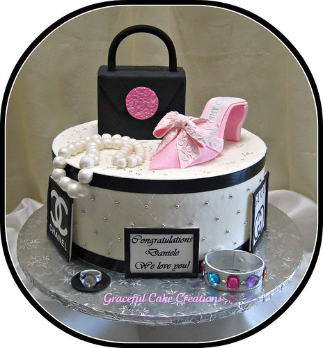 Fashionista Birthday Cake
