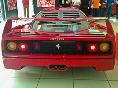 ferrari 288 gto(0.0), ferrari 512(0.0), ferrari 308 gtb/gts(0.0), lamborghini jalpa(0.0), ferrari testarossa(0.0), race car(1.0), automobile(1.0), vehicle(1.0), ferrari f40(1.0), land vehicle(1.0), luxury vehicle(1.0), supercar(1.0), sports car(1.0),