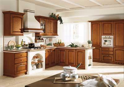 Cucina con penisola in muratura flickr photo sharing - Cucina con penisola rotonda ...