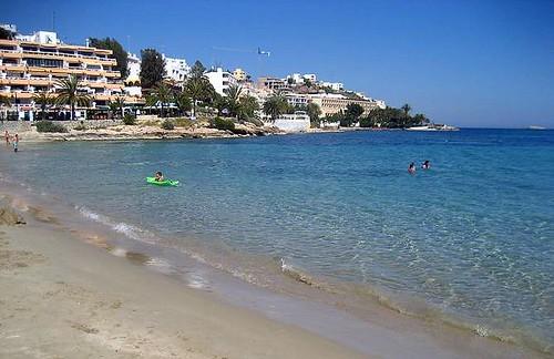 figueretas beach, ibiza