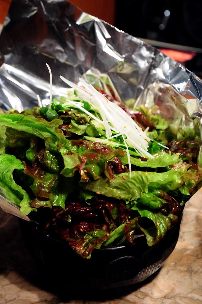 秘苑燒肉-秘苑特製生菜沙拉 チョレギサラダ (700)