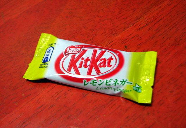 KitKat Lemon Vinegar