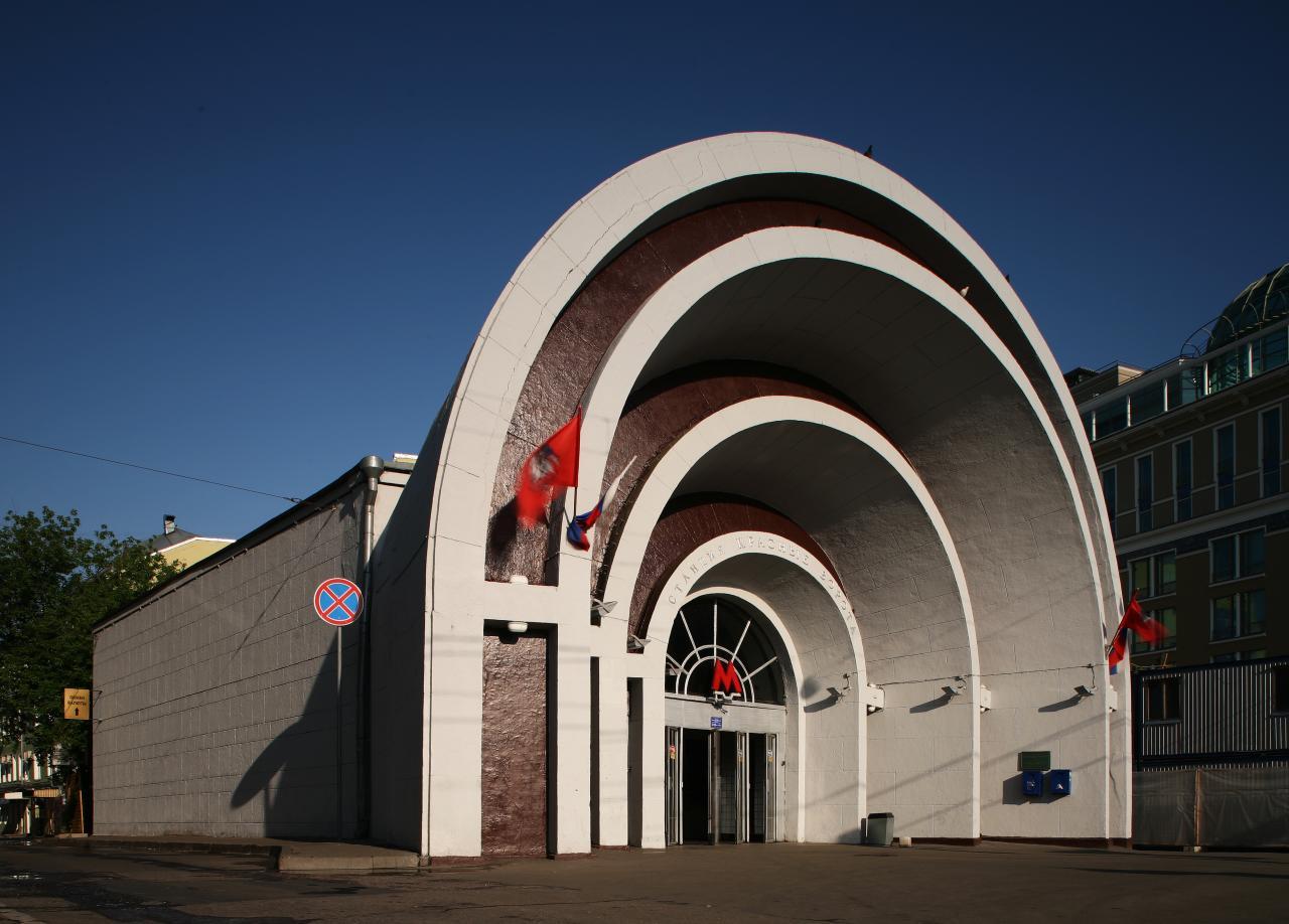 Северный вестибюль станции метро «Красные ворота» откроется после ремонта 1июня