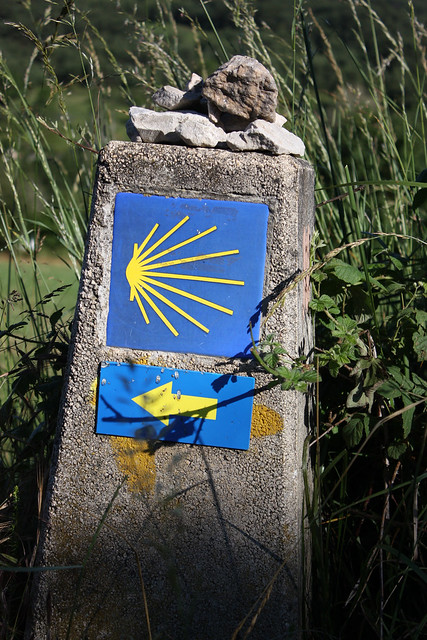 The symbol of the Camino