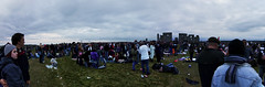 Stonehenge Summer Solstice 2009 - Panorama  + What a Crowd