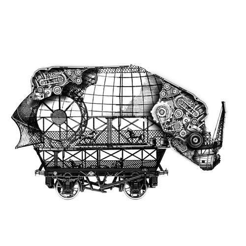 Rinoceronte Mecánico
