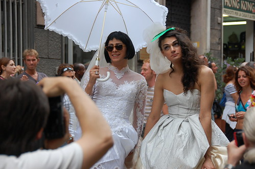 Gay Pride in Genoa, Italy