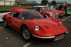 race car, automobile, vehicle, automotive design, dino, ferrari s.p.a., land vehicle, supercar, sports car,