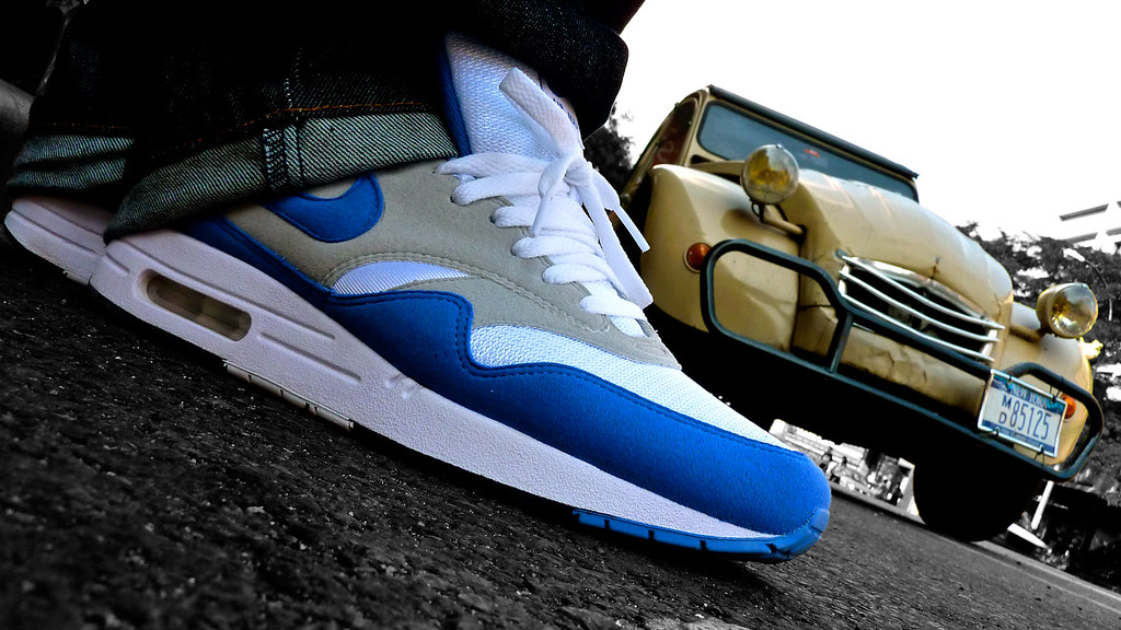 nike air max 1 qs varsity blue 2009 og retro