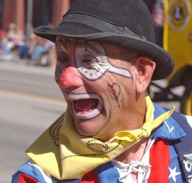Rodeo Clown Faces http://www.flickr.com/photos/40870644@N03/3766230544/