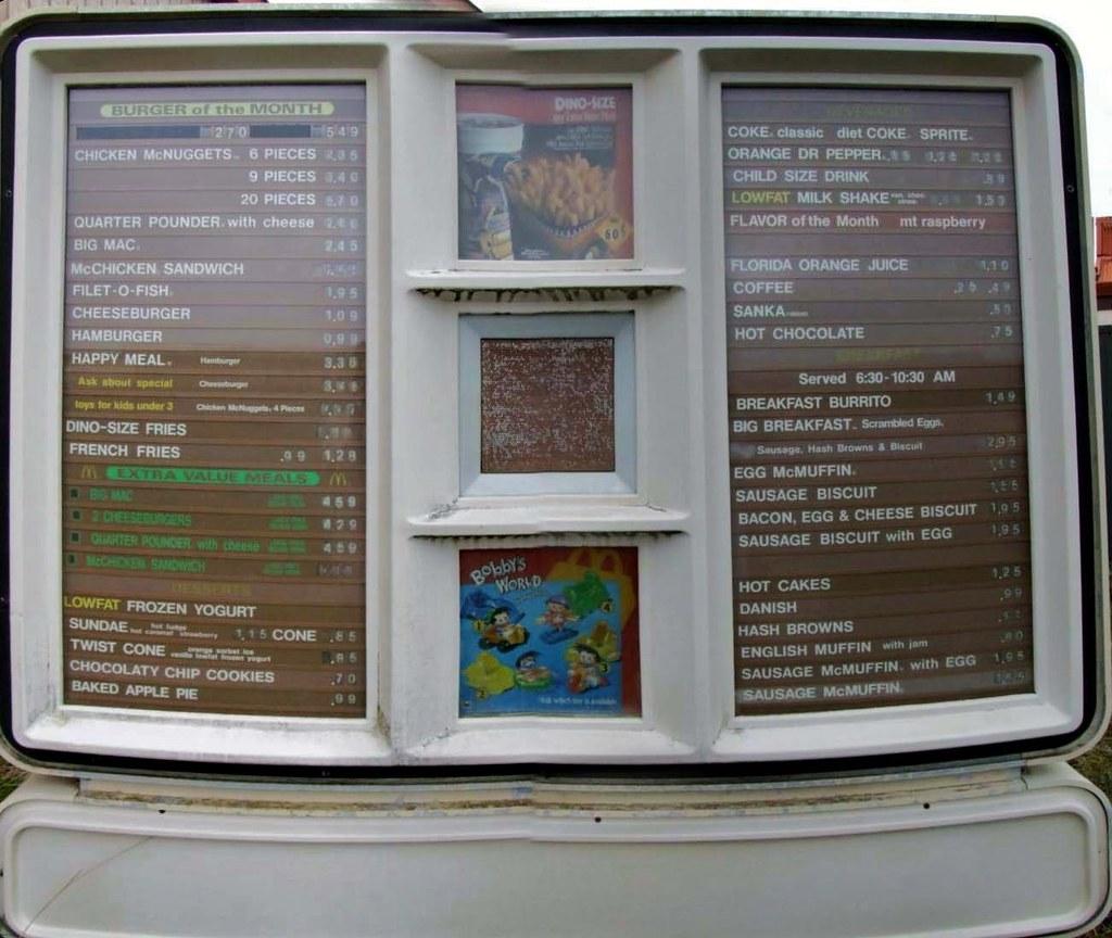 how to remember mcdoanlds menu working at mcdonalkds