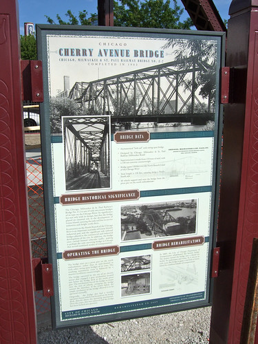Cherry Avenue bridge interpretation and facts