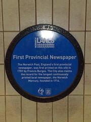 Photo of Francis Burges blue plaque