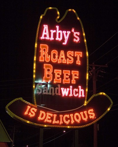 Vintage Arby's Sign-Aurora, IL by William 74