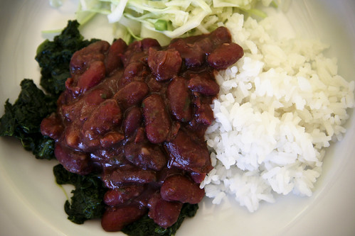 Dinner: Red Beans and Rice