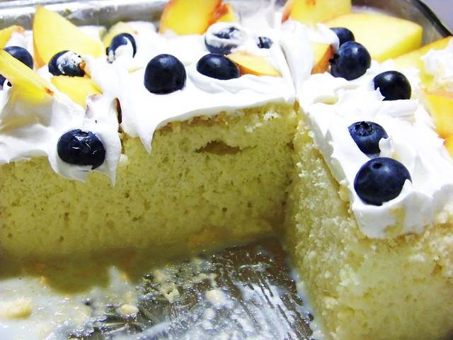 Tres Leches Birthday Cake Chicago
