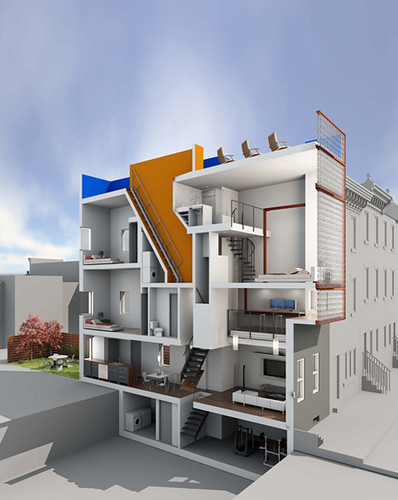 Row house plans contempory joy studio design gallery for Best row house designs
