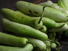 India - Koyambedu Market - Gourds 01
