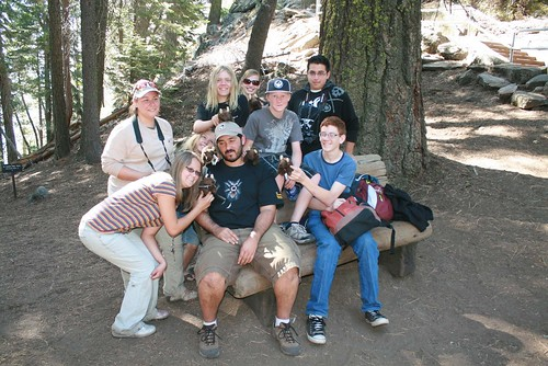 Buddy and friends in Sequoia National Park