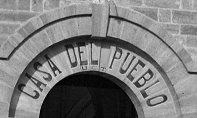 Casa del Pueblo. 1937. Foto Serrano