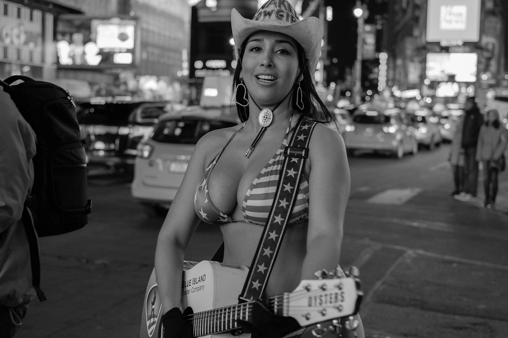 Alejandra the Naked Cowgirl Of Times Square
