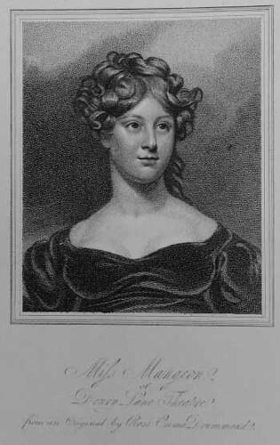 Henrietta Charlotte Lucy Mangeon abt. 1817