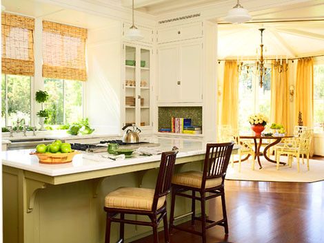Yellow Green Kitchen : photo