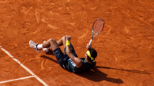 Juan Martin Del Potro - 1/2 finale de Roland Garros 2009 - semi final - tennis french open