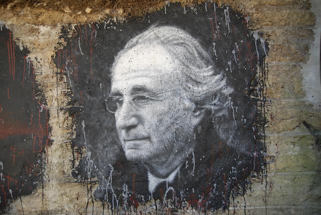 Bernard Madoff, painted portrait _DDC5185