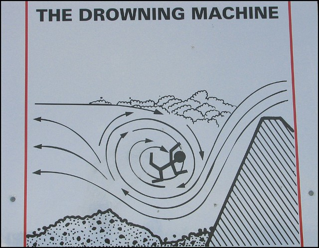 drowning machine