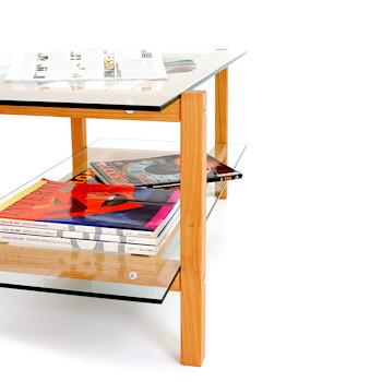 Couchtisch KRUIS Kirschbaum / Coffee table cherry wood