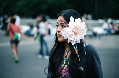 Japanese hippy chick I