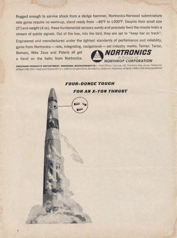 Nortronics Ad