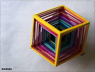 Retractable Cube