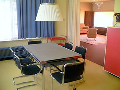 dining-room in Huis Sonneveld, furnature Gispen?