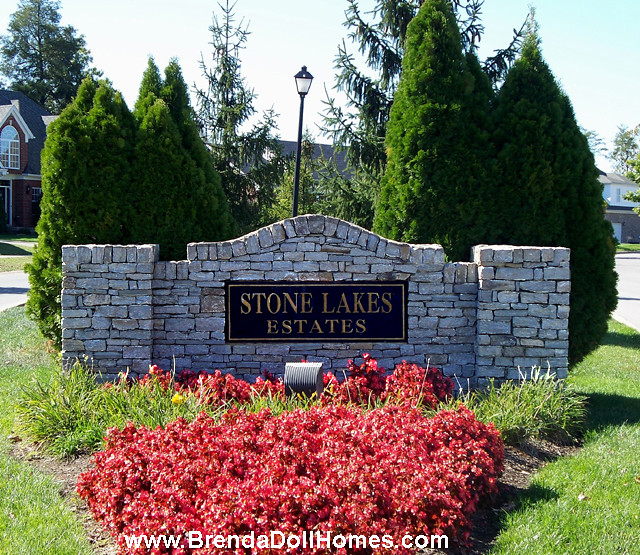 Stone lakes estates subdivision louisville ky 40299 for Landscaping rock louisville ky