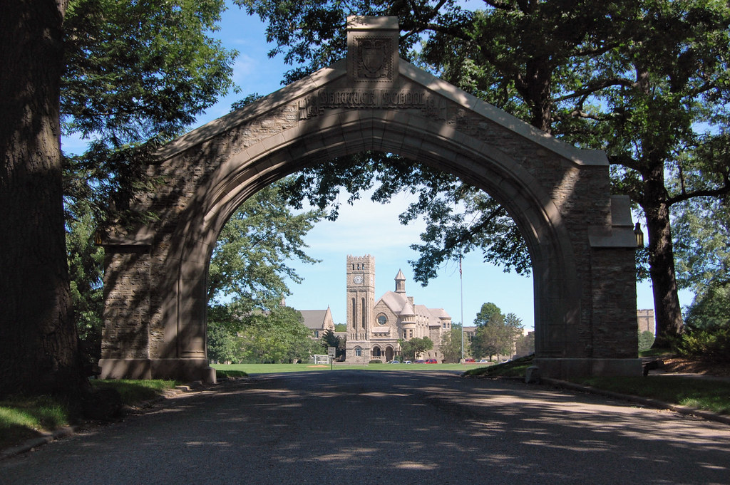 Whitney Memorial Arch - Faribault, MN