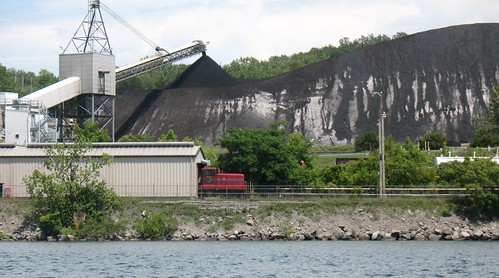 Coal Pile at AES Cayuga by ddbrown4