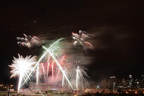 Calgary Stamped firework Pt 10016