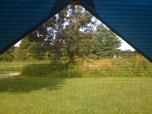 statepark park morning camping iowa tent pleasantcreek takenwithiphone3g pleasantcreekstatepark